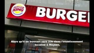 Menace au pistolet pour un hamburger