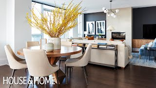 Fearless Decorating Moves Make This Basic Condo Feel Like A Home