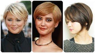 Top 20 💘 moderne kratke frizure za okruglo lice jesen 2018