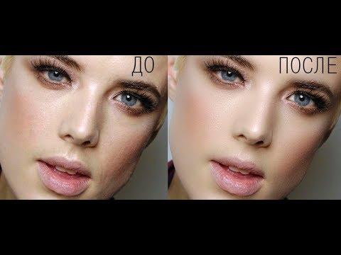 Разглаживание кожи с сохранением текстуры  в фотошоп (Photoshop)