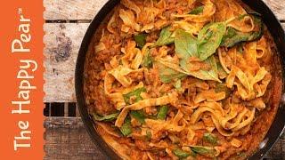High Protein Pasta VEGAN | The Happy Pear