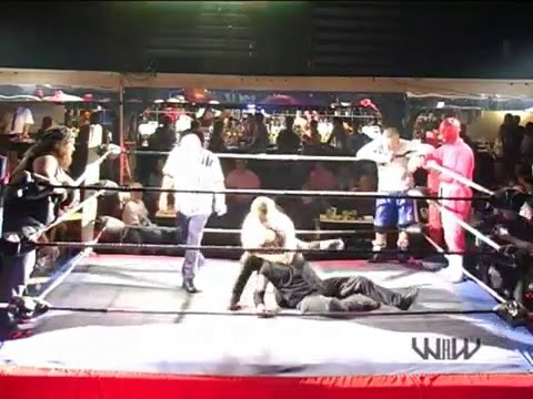 Red Hellion, Rude Boy Roberts & Dave Daniels vs.  Dynamo, Taurus & Malachi