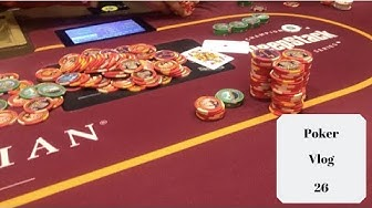 Going All In At 4 Different Las Vegas Casinos! Action!! Poker Vlog 26
