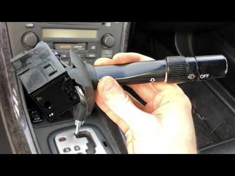 How to Diagnose and Replace Wiper Switch for Honda/Acura