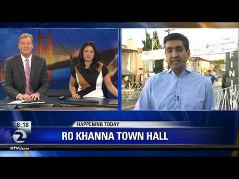 Representative Ro Khanna to hold town hall meeting