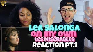 lea salonga on my own les misérables reaction pt1