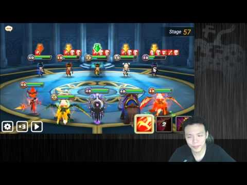 Summoners War Toa Hard W Obtainables 77 Kung Fu Girls Doovi