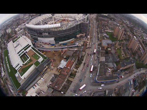 14/1/18 Tottenham Hotspur 360 Birds Eye View