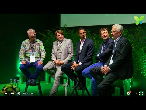 ECO15 London: Impact VC Panel Solarkiosk ClearlySo DOEN Foun