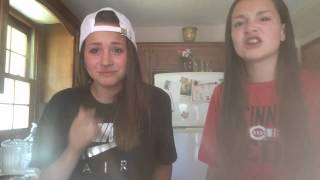 CINNAMON CHALLENGE PART TWO!!! | ft. My little sister