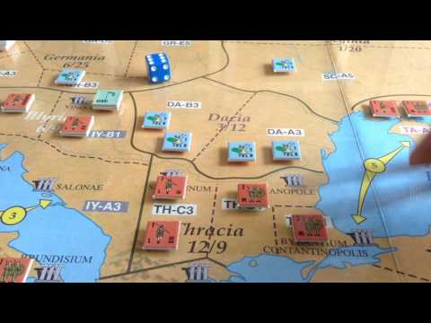 Fall of Rome - from Strategy and Tactics Magazine