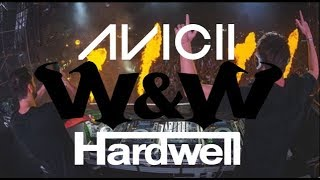 W&W & AVICII & HARDWELL - DROP MACHINE (OFFICIAL MUSIC VIDEO) HD HQ PARTYROCKZZ