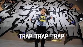 little girl freestyles on Rick Ross _ TRAP TRAP TRAP / Dance video / Break a Leg