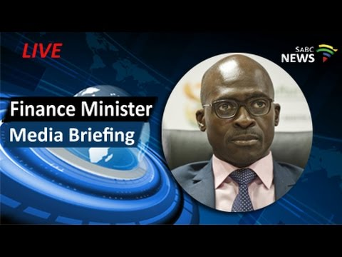 Finance Minister Gigaba news conference, 01 April 2017