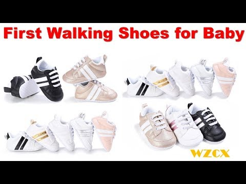 First Walking Shoes for Baby !! Soft Sole First Walkers Baby Shoes !! Baby Sneakers