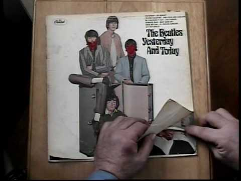 Beatles Butcher Album Jacket Coverthe Dry Peel Youtube