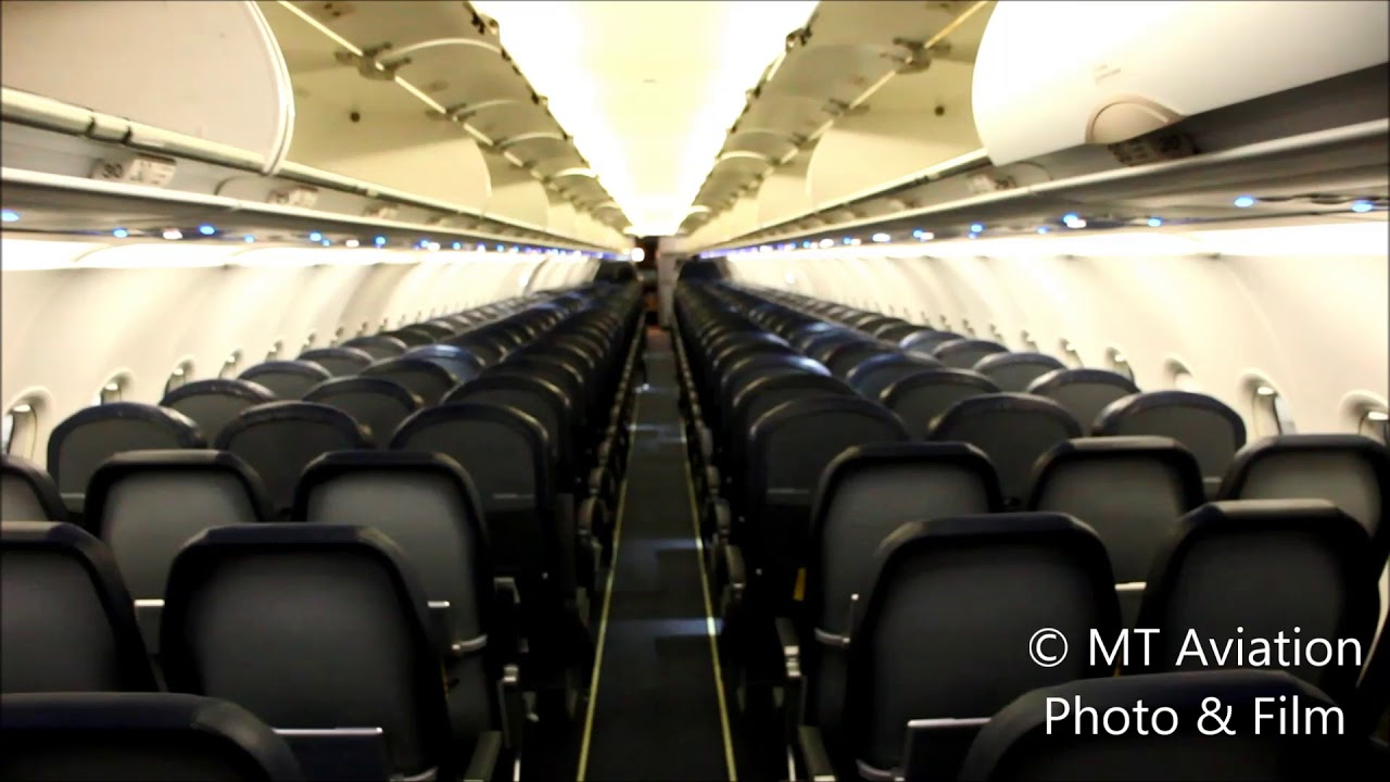 Spirit Airlines A320 Cabin Tour V2 Youtube