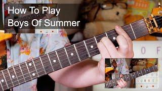 'Boys Of Summer' Don Henley Guitar Lesson