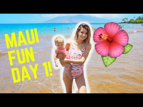 DAY 1 MAUI FUN IN THE SUN AND SAND