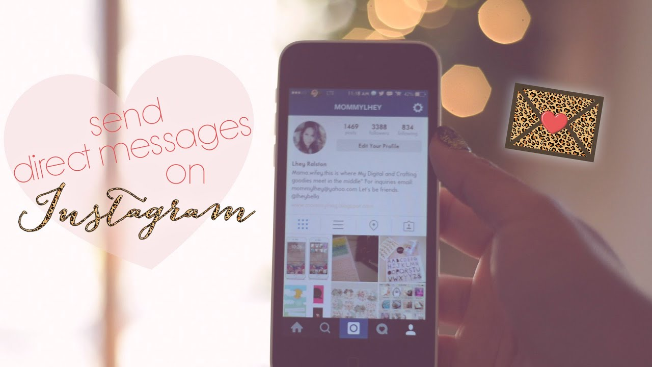 How to send direct messages on instagram youtube how to send direct messages on instagram ccuart Gallery