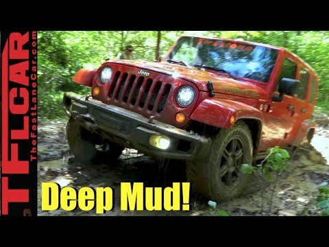 Getting Muddy In Jeep Wranglers In Virginia: Firestone Destination M/T2 Tire Review
