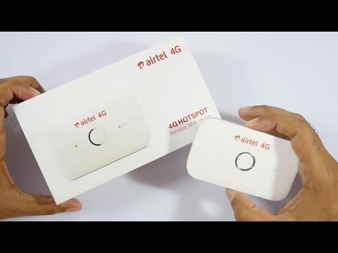 Airtel 4G Portable WiFi Hotspot Review