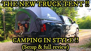 THE NEW TRUCK TËNT - CAMPING IN STYLE!! TORRENTIAL RAIN, STEAKS over a CAMPFIRE and TENT REVIEW👍👍