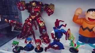 Mê mẩn trong cửa hàng đồ chơi của Nhật Bản: Marvel, Doraemon, Gundam