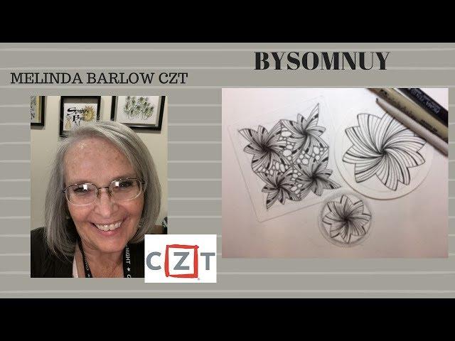 Zentangle Art Lesson Bysomnus tangle pattern 364