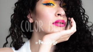 MAKE UP TUTORIAL l Color Block by Pauuulette