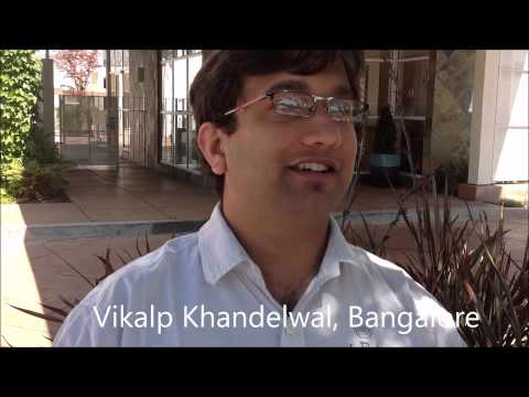 [Rajiv Nema Indori Fan] Vikalp Khandelwal from Bangalore /Ujjain meets in Silicon Valley