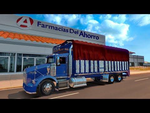 Camión TORTON maquina Caterpillar C15 rumbo a Cananea, Sonora