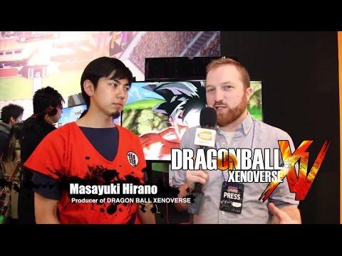 Dragon Ball XENOVERSE Interview - Jump Festa 2015