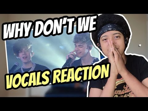 10 Times Why Don't We Vocals Had Me Shook (Reaction)