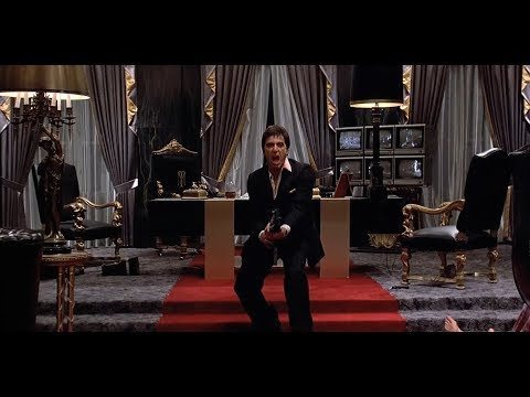 Scarface (1983) - Final Scene (VOSTFR)