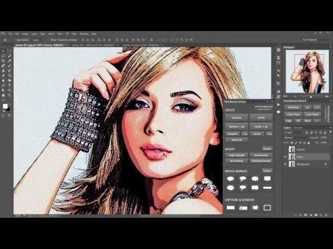 Adobe Photoshop Cartoon Filter