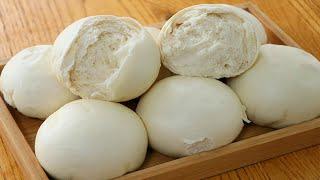 傳統自製老面饅頭:不用酵母發麵,教你千層戧面做法,越嚼越香! 【夏媽廚房】