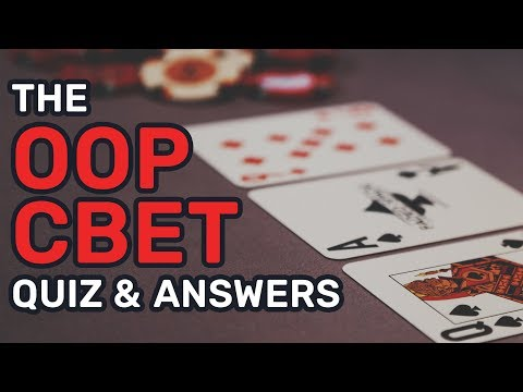C-Betting OOP Poker Quiz & Answers (100% Free)