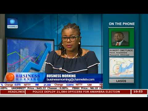 Equities Market Review With Robert Omotunde | Business Morning |