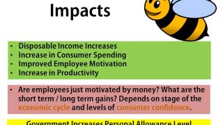 Bee Business Bee Government Economic Policies Presentation
