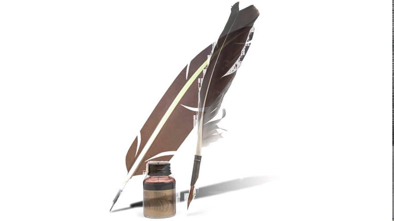 feather pen youtube