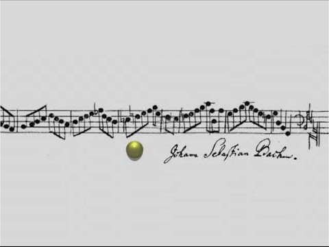 J.S. Bach - Crab Canon on a Möbius Strip←Stereo Sound→バッハ 蟹のカノン ステレオ版