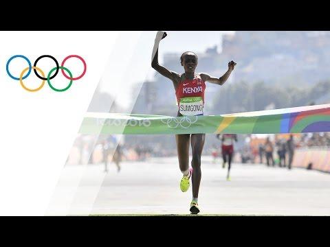 Sumgong is first Kenyan woman to win Olympic marathon gold