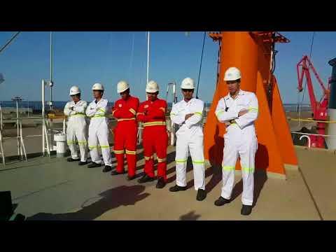 PANAMA Dance - Seafarer style - [ M.V. ALIZAY 1] #highland maritime