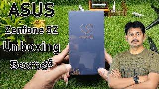 Asus Zenfone 5Z Smart Phone Unboxing ~ in Telugu ~ Tech-Logic