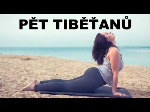 Pět Tibeťanů - Cvičení na hubnutí