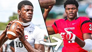 I PLAYED WITH LAMAR JACKSON BEFORE HE BECAME INSANELY GOOD.. (STORY TIME)