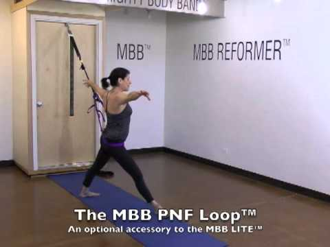The Mighty Body Band® LITE (MBB LITE™) 20 minute workout with Marcy Caron