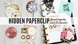 How To Create Altered Paper Clips and Paperclip Embellishments DIY