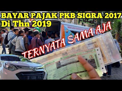 Bayar Pajak Pkb Daihatsu Sigra 2017 Di Thn 2019 Youtube